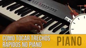 Tocar rápido no Piano