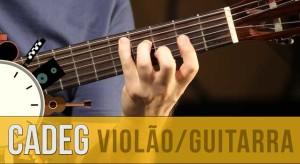 Sistema CAGED: amplie acordes para violão/guitarra