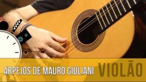 Arpejos de Mauro Giuliani | Violão