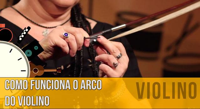 Partes do Arco do Violino