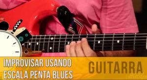 improvisar na guitarra