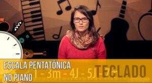 Escala Pentatônica no Piano