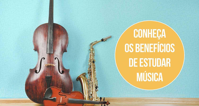 Benefícios de estudar música