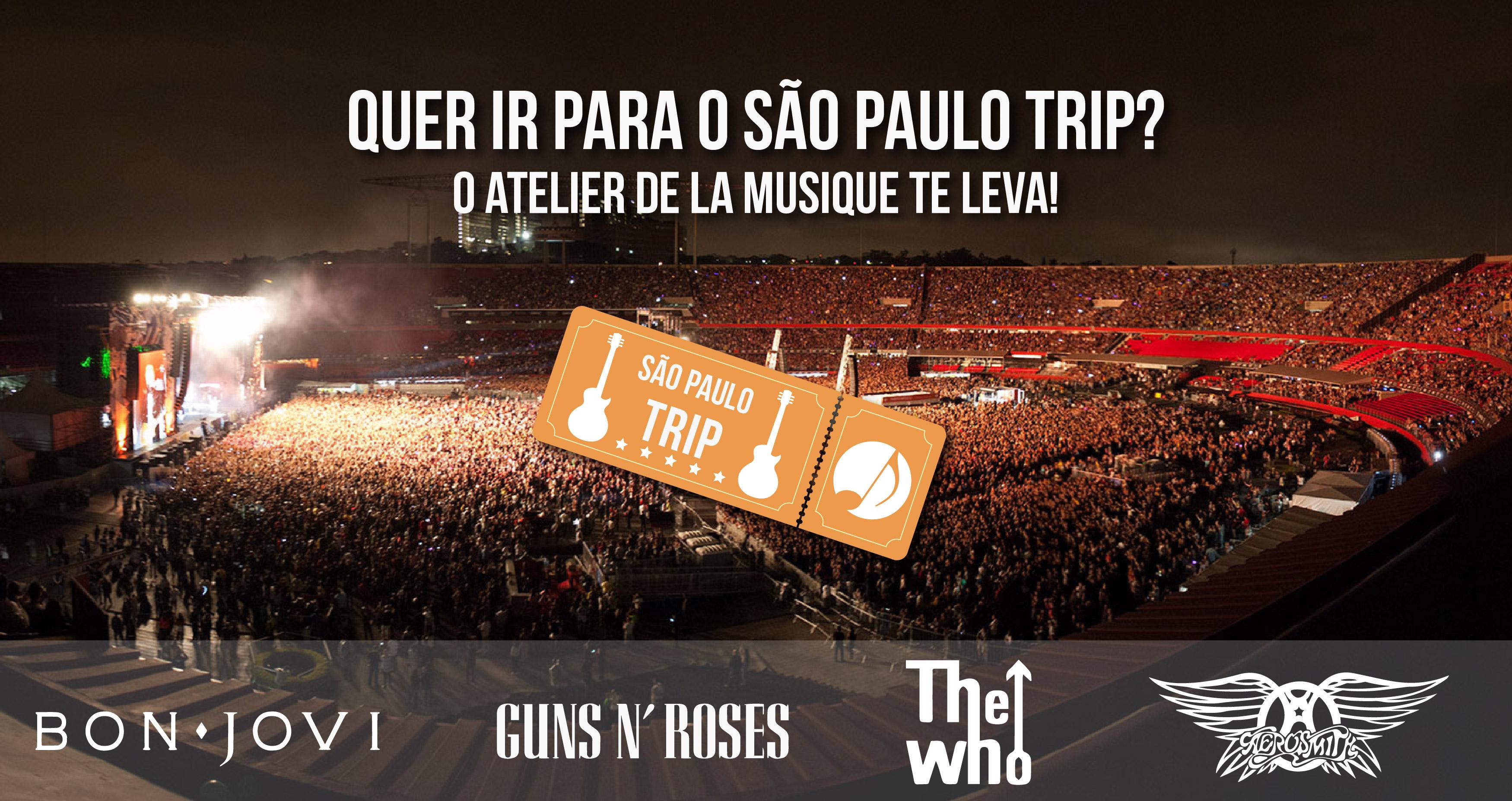 estude musica no atelier de la musique e ganhe 1 ingresso para o São Paulo Trip