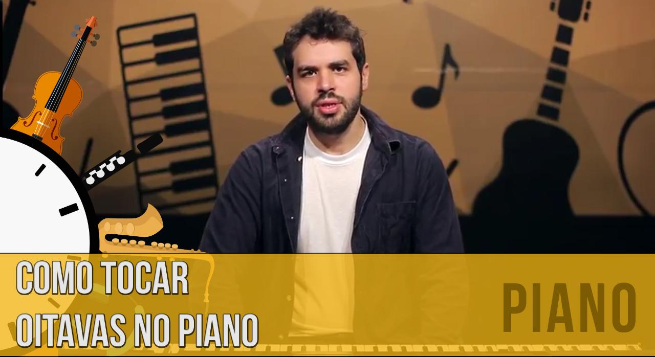 Como tocar oitavas no piano