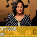 Aquecimento vocal com piano