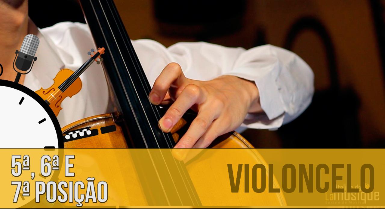 Como fazer a 5ª, 6ª e 7ª posições no violoncelo