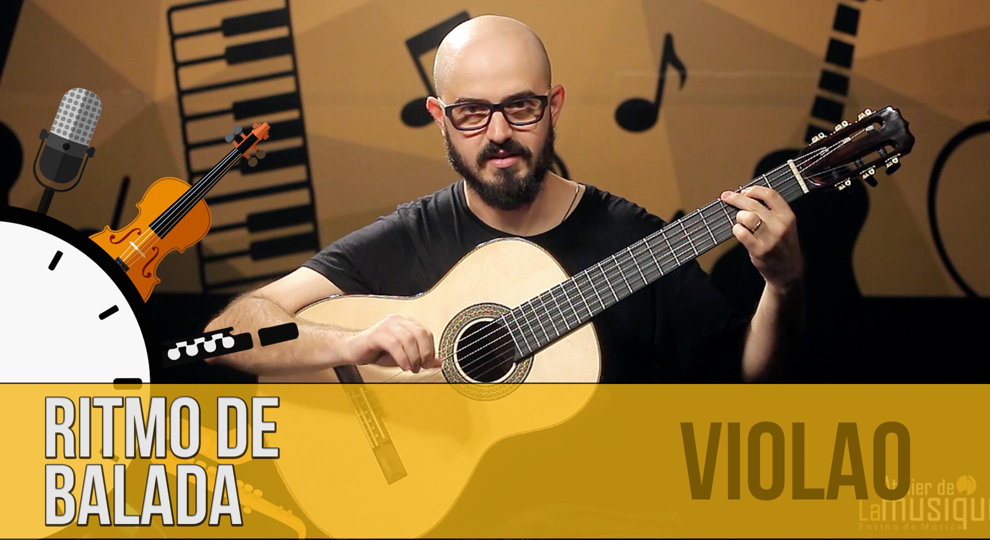 Ritmo de balada no violão