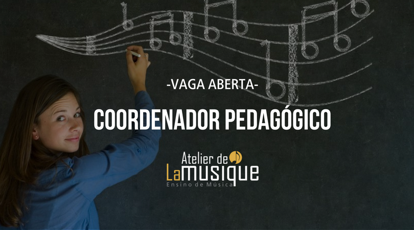 Vaga aberta para Coordenador Pedagógico